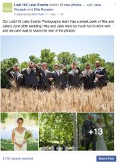 Organic Facebook Post